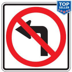 Restrictive Traffic Prohibition Signs